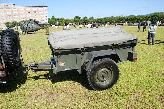 陸上自衛隊:1/4t トレーラ - い...