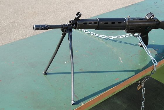 89式5.56mm小銃:二脚 - いこま...
