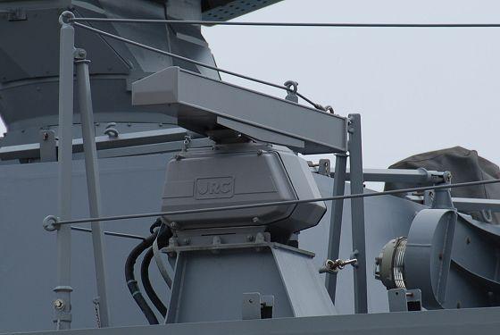 ミサイル艇 うみたか:航海レー...