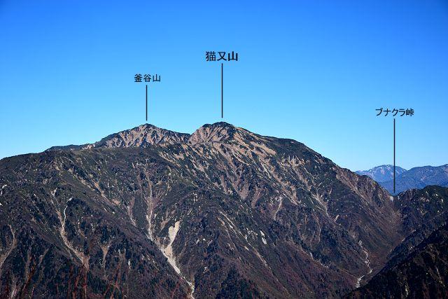 立山周辺の山:猫又山 - いこま...